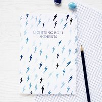Lightning Bolt Moments Notebook