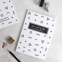 'For Cool Quotes And Making Notes' Notebook