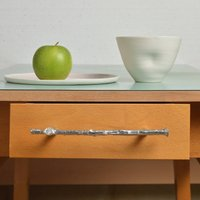 Twig Pewter Drawer Pull Or Cupboard Handle