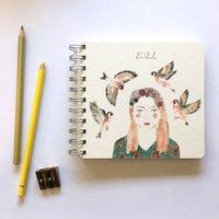 2022 Diary Goldfinch Girl