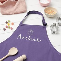Personalised Childrens Christmas Apron