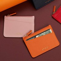 Luxury Leather Coin And Card Purse