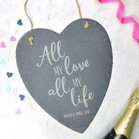All My Love, Slate Heart Decoration