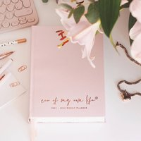 2021 2022 Weekly Ceo Of My Own Life Planner | Blush