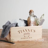 Personalised Pamper Box