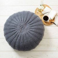 Rib Floor Cushion Knitting Kit