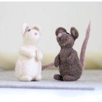 Mice Needle Felting Craft Kit