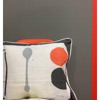 Spoon + Orange Cushion