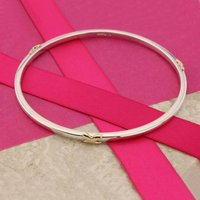 Bangle With Gold Kisses, Gold