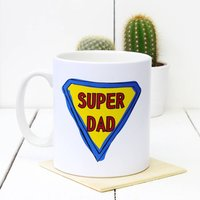 Personalised Dad's Superhero Ceramic Mug