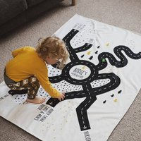 Personalised Special Place Road Map Blanket For Kids