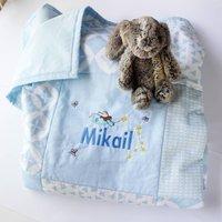 Personalised Baby Quilt Fairy Design