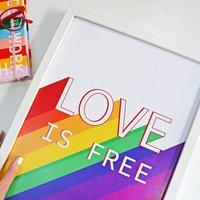 'Love Is Free' Print