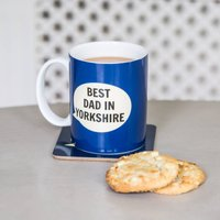 'Best Dad In Yorkshire' Bone China Mug