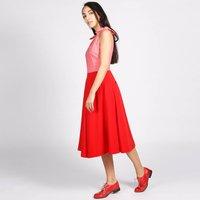 Bonbon 50s Style Dress Red Pink