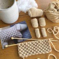Easter Toys Knitting Pattern Set