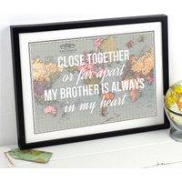 Personalised Brother Print