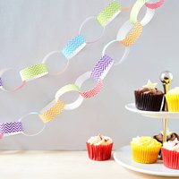 Chevron Paper Chain Kit