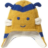 Unisex Blue And Yellow Bumblebee Knit Winter Hat