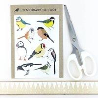 Bird Temporary Tattoos