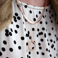 Minimalist Layered Necklace Set