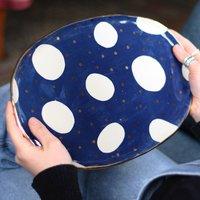 Cosmic Ceramic Oval Platter