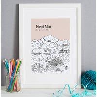 Personalised Isle Of Man Print
