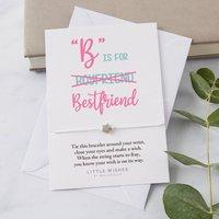 Best Friend Valentine's Wish Bracelet