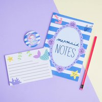 Mermaid Stationery Notebook Gift Set