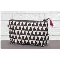 Alibag Triangle Print Make Up Bag