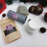 English Lavender Puer Black Fusion Blend Teapot Set
