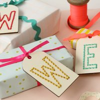 Stitch Your Own Monogram Labels