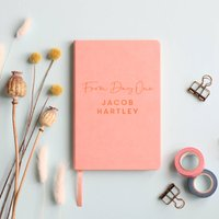From Day One Personalised New Baby Journal