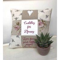 Cuddles For Nanny Cushion