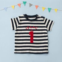 Personalised Birthday T Shirt For Baby