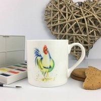 Gerty The Chicken, Bone China Mug