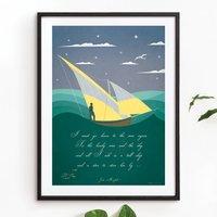 'Sailing' Art Print