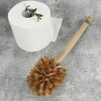Sustainable Wood Toilet Brush With Plant Bristles