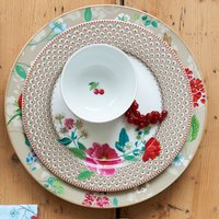 Pip Studio Hummingbirds Floral Two.0 32cm Platter