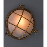 Chris Round Bulkhead Lights For Indoors Or Outdoors