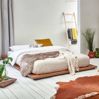 Low Wooden Modern Bed Frame