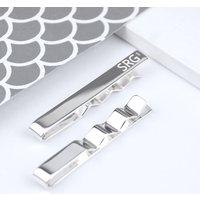 Personalised Sterling Silver Tie Slide