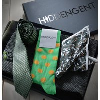 Mens Matching Tie And Scarf Gift Set