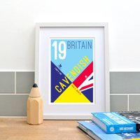 *Personalised* Land's End John O' Groats Print Two