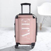 Statement Blush Personalised Suitcase