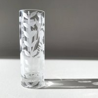 Contemporary Hand Decorated Bud Vase