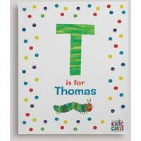 Personalised Very Hungry Caterpillar Canvas Print