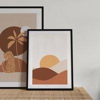 Caramel Sun Boho Art Print