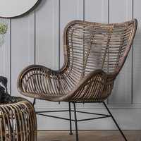 Rattan Lounger Chair