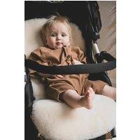 Baa Baby Pram Style Sheepskin Pram Liner Milk Shorn